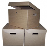 A4 Archive Filing Cardboard Storage Boxes 15x12x9